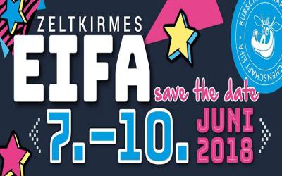 Save the Date – Zeltkirmes in Eifa